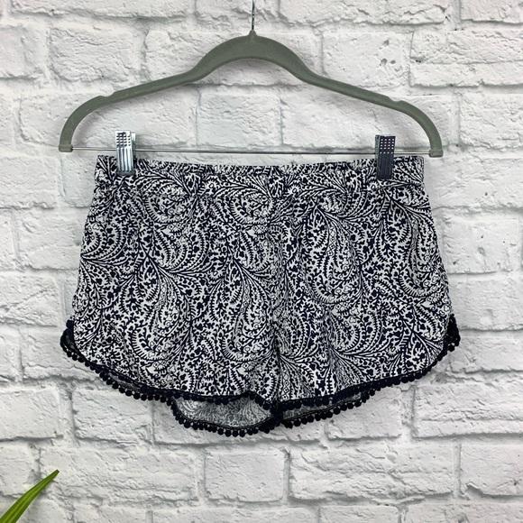 aerie Other - Aerie Printed Pom Pom Pajama Shorts S